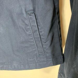 Jackets & Coats - Dark Blue Hurley Zip Front Jacket Medium